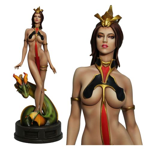 Fantasy Figure Gallery Lady Dragon 1:6 Scale Statue