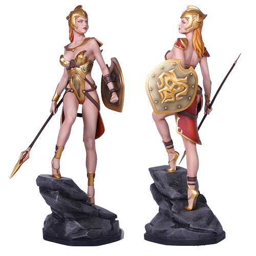 ffg greek myth collection athena wei ho statue yamato usa fantasy figure gallery statues. Black Bedroom Furniture Sets. Home Design Ideas