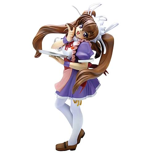Welcome to Pia Carrot 2 Tomomi Aizawa Maid Statue Sculpture