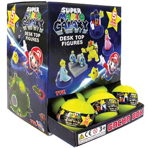 Super Mario Galaxy Buildable Mini-Figures Random 6-Pack