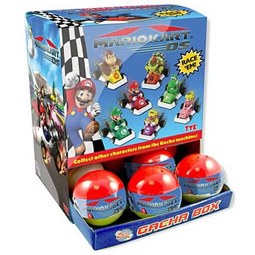 Nintendo Mario Kart DS Pullback Racers Display Box