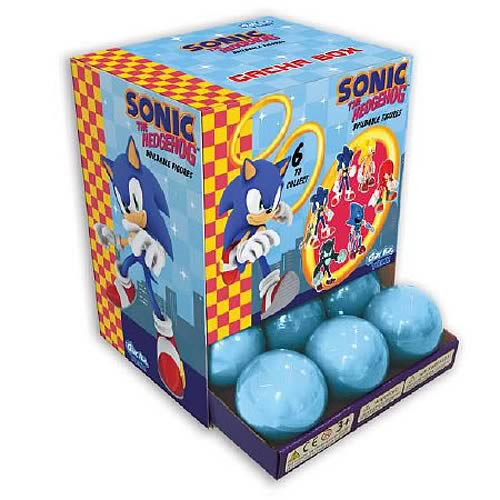 Sonic the Hedgehog Buildable Mini-Figures Display Box