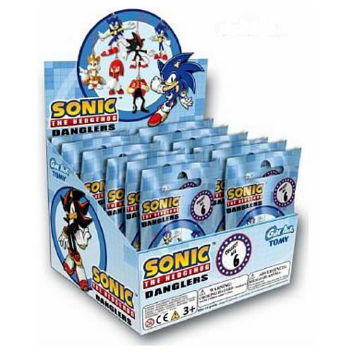 Sonic the Hedgehog Danglers Phone Charm Display Box