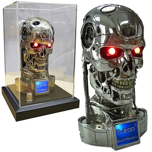 Terminator 2 Judgment Day T-800 Half Scale Endoskull Bust