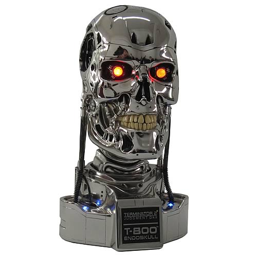 Terminator 2 Judgment Day T-800 1:1 Scale Endoskull Replica