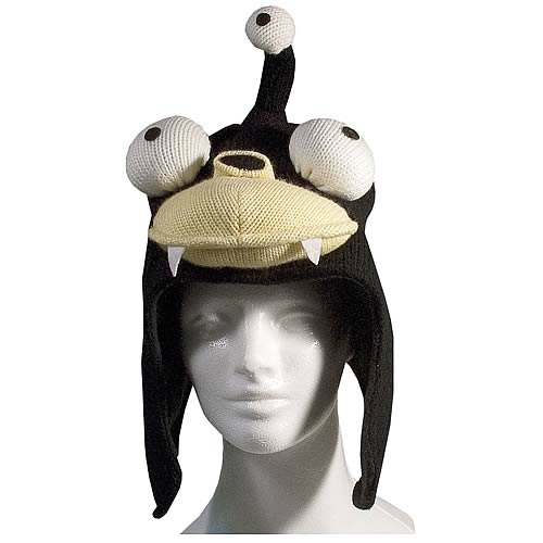 Futurama Nibbler Knit Hat