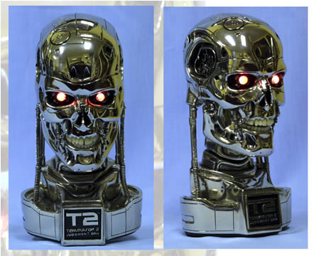 Terminator Endoskull Mini Bust