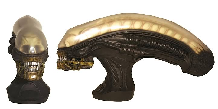 Alien Mini Bust