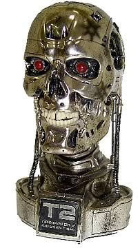 T2 Battle Damaged Endoskull Mini Bust