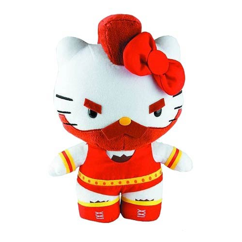 Street Fighter Zangief Hello Kitty 11-Inch Series 3 Plush