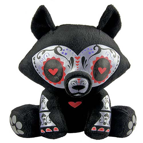 Skelanimals Day of the Dead Jae (Wolf) 6-Inch Plush