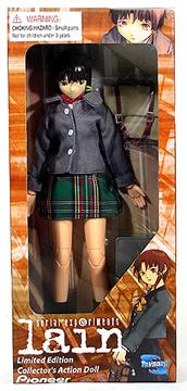 Lain in Schoolgirl Uniform