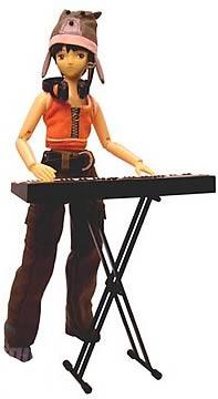 Lain as DJ 8-inch Doll