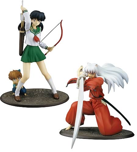 Inuyasha PVC Statues Series 1 Case