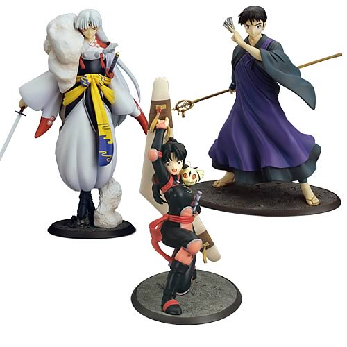 Inuyasha PVC Statues Series 2 Case
