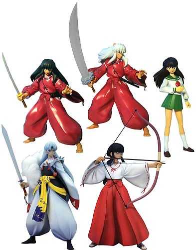 Inuyahsa Figures Collection 1 Case