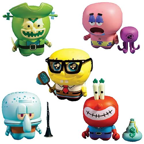 SpongeBob and Friends Series 1 UNKL Model Vinyl Figure Case