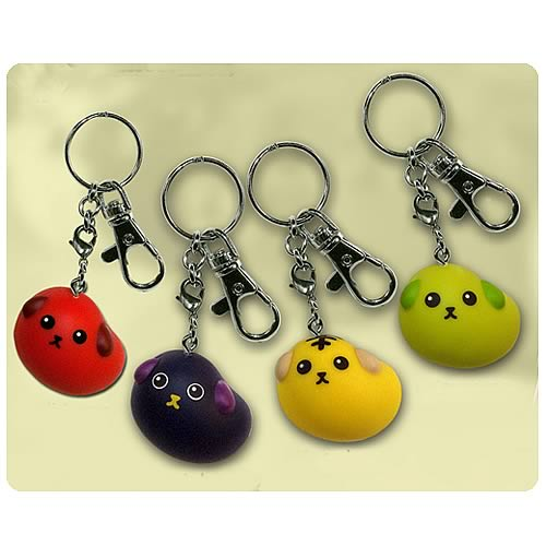 Mameshiba Talking Key Chain Set