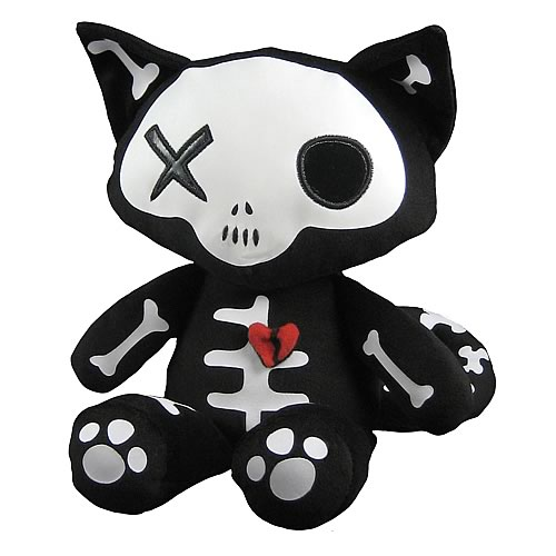 Emily the Strange Skele-Posse Miles Plush