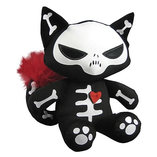 Emily the Strange Skele-Posse Sabbath Plush