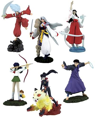 Inuyasha Figurines Series 1 Set