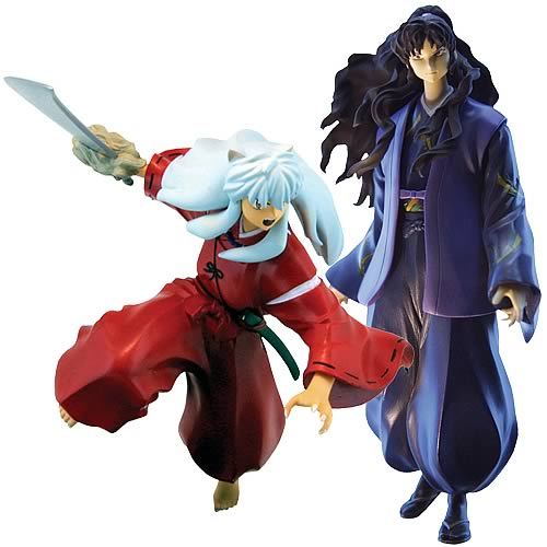 Inuyasha Series 4 Action Figure Case