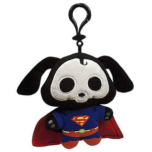 DC Heroes Skelanimals Superman Dax Clip-On Plush