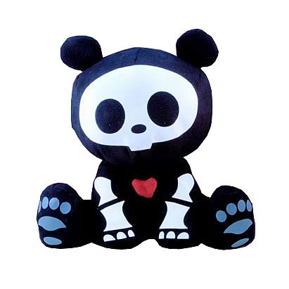 Skelanimals Chung-Kee (Panda) 8-Inch Plush