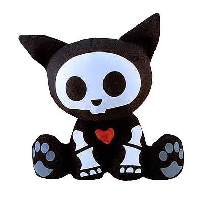 Skelanimals Kit (Cat) 8-Inch Plush