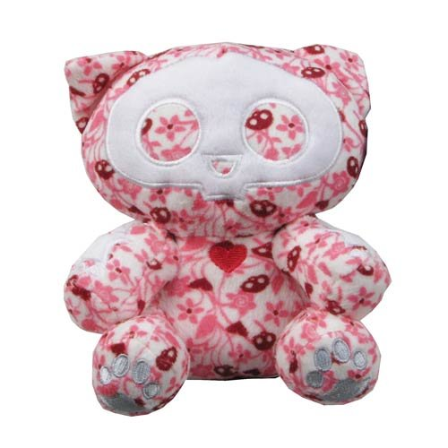 Skelanimals Kit (Cat) 6-Inch Beanie Plush