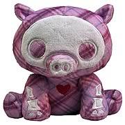 Skelanimals Bill (Pig) 6-Inch Beanie Plush