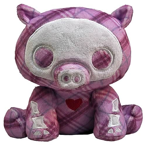 Skelanimals Bill (Pig) 6-Inch Beanie Plush