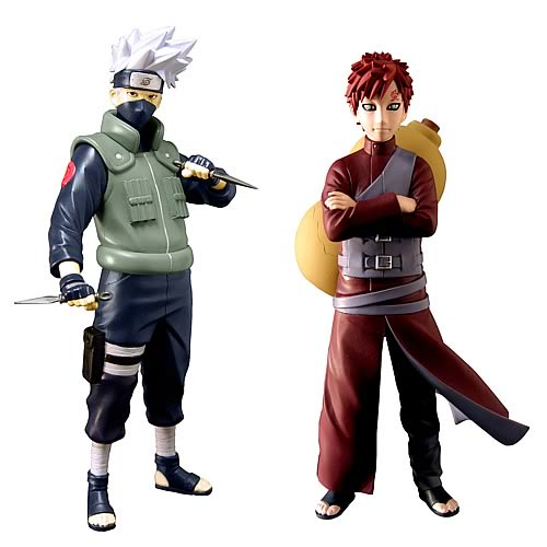 Naruto Shippuden Series 2 Action Figure Set