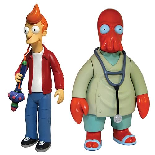Futurama Series 1 Action Figure Set
