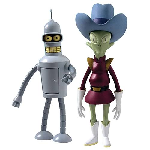 Futurama Series 3 Action Figure Set