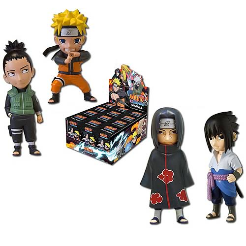 Naruto Shippuden Mininja Blind Box Figures Display Box