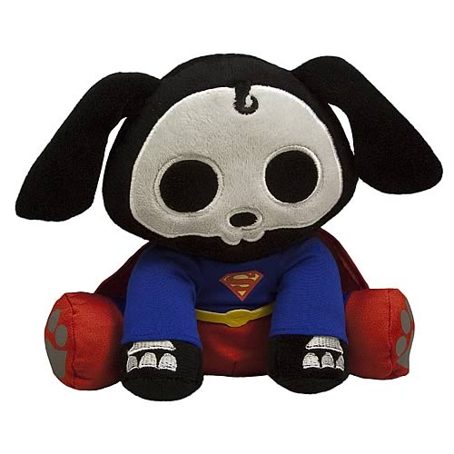 DC Heroes Skelanimals Superman Dax Mini Plush