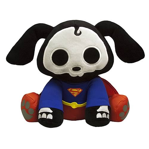 DC Heroes Skelanimals Superman Dax Deluxe Plush