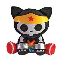 DC Heroes Skelanimals Wonder Woman Kit the Cat 12-Inch Plush