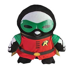 DC Heroes Skelanimals Robin Pen the Penguin 12-Inch Plush