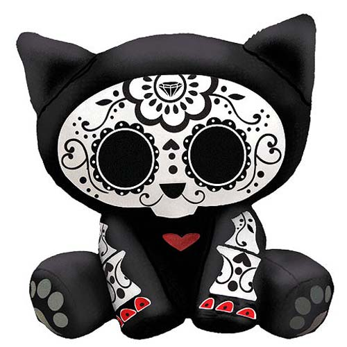 Skelanimals Day of the Dead Kit (Cat) 6-Inch Plush