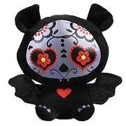 Skelanimals Day of the Dead Diego (Bat) 6-Inch Plush