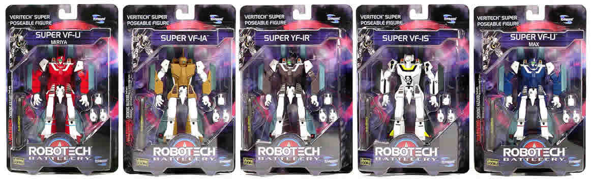 Robotech Battlecry Set