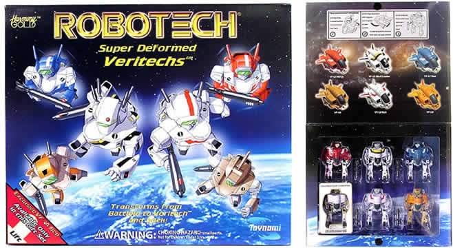 Robotech SD Gift Set