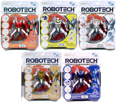 Robotech Super Poseable Set