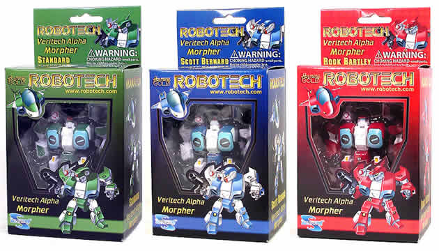 Robotech Alpha Morphers Set