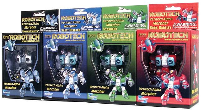 Alpha Morphers Set with Shadow