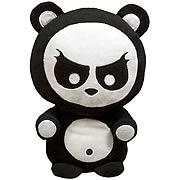 Angry Panda 10-Inch Plush