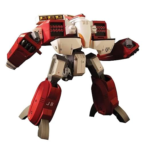 Robotech Masterpiece Collection Beta Fighter Red Figure