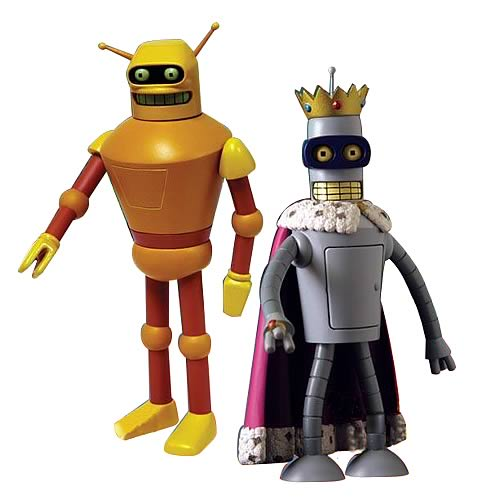 Futurama Action Figures Series 5 Set